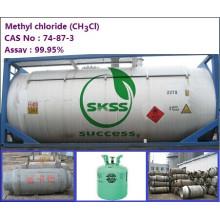 Ch3Cl de chlorure de méthyle de bon prix, le tambour en acier de produit 200L / tambour, Chroma (Pt-Co) ISO-TANK 10 pureté de 99.5%