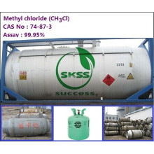 Good Price Methyl Chloride ch3cl, Refillable Cylinder, 99.9% purity