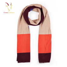 Colorful 100% Cashmere Plaid Scarf Shawl Inner Mongolia