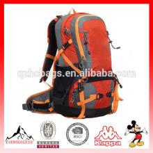 Venta caliente del hombro doble fabricante al por mayor multifuncional mochila alpinismo mochila al aire libre