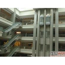 Машинный бессточный обзорный лифт для торгового центра