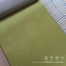 Compound Suede 100% Polyester Fabric with T/C Backing