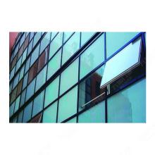 Rahmenlose Glasvorhangfassade im neuen Design