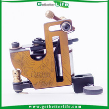 2015 getbetterlife Latest tattoo machine Supply Tattoo Guns Liner And Shader 10 and 12 wrap coils For Iron tattoo Machine Gun