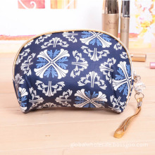 Flowers Printed Lady Cosmetic Bag