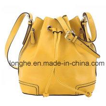 Moda bolsillos laterales cubo Crossbody bolsa (ly0111)