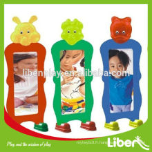 Miroir miroitant en plastique pour enfants, miroir magique mural réversible pour enfants LE.HH.022