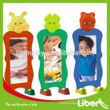 kids plastic distorting mirror,children reversible wall magic mirror LE.HH.022