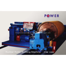Máquina de textiles de bobinado de rodillos de goma personalizada