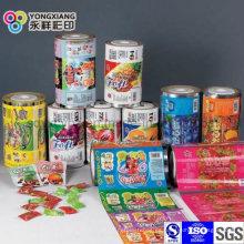Embalaje de plástico de alimentos Rollo de película