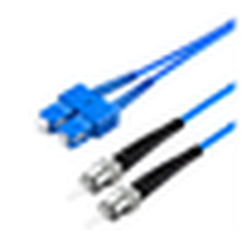 4 core single mode blindado cabo, impermeável duplex blindado patch cord Com Sc, Lc, St, Fc Conectores Fibra Óptica