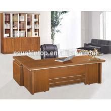 Последний дизайн офисного стола, одна стойка регистрации и боковой стол, индивидуальный размер