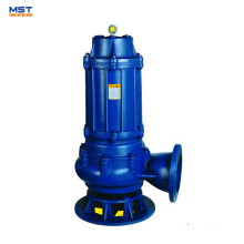 Bomba sumergible de aguas residuales para planta de aguas residuales