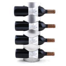 Europe Stainless Steel Wall Mounted Wine Holder Rack Household Wine Rack