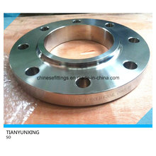 A182 304L Levante la cara de acero inoxidable deslizamiento en la brida