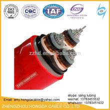 150sq mm 3 Core 11KV XLPE cable de acero blindado cable de alimentación