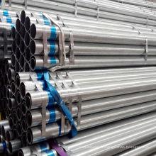 Tuyau de tube de clôture galvanisé au carbone soudé ERW