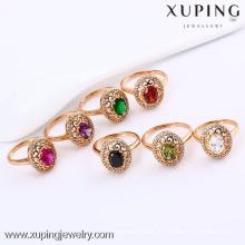 11817-Xuping Fine Jewelry Anéis De Dedo Grandes De Pedra Para As Mulheres Com Boa Qualidade