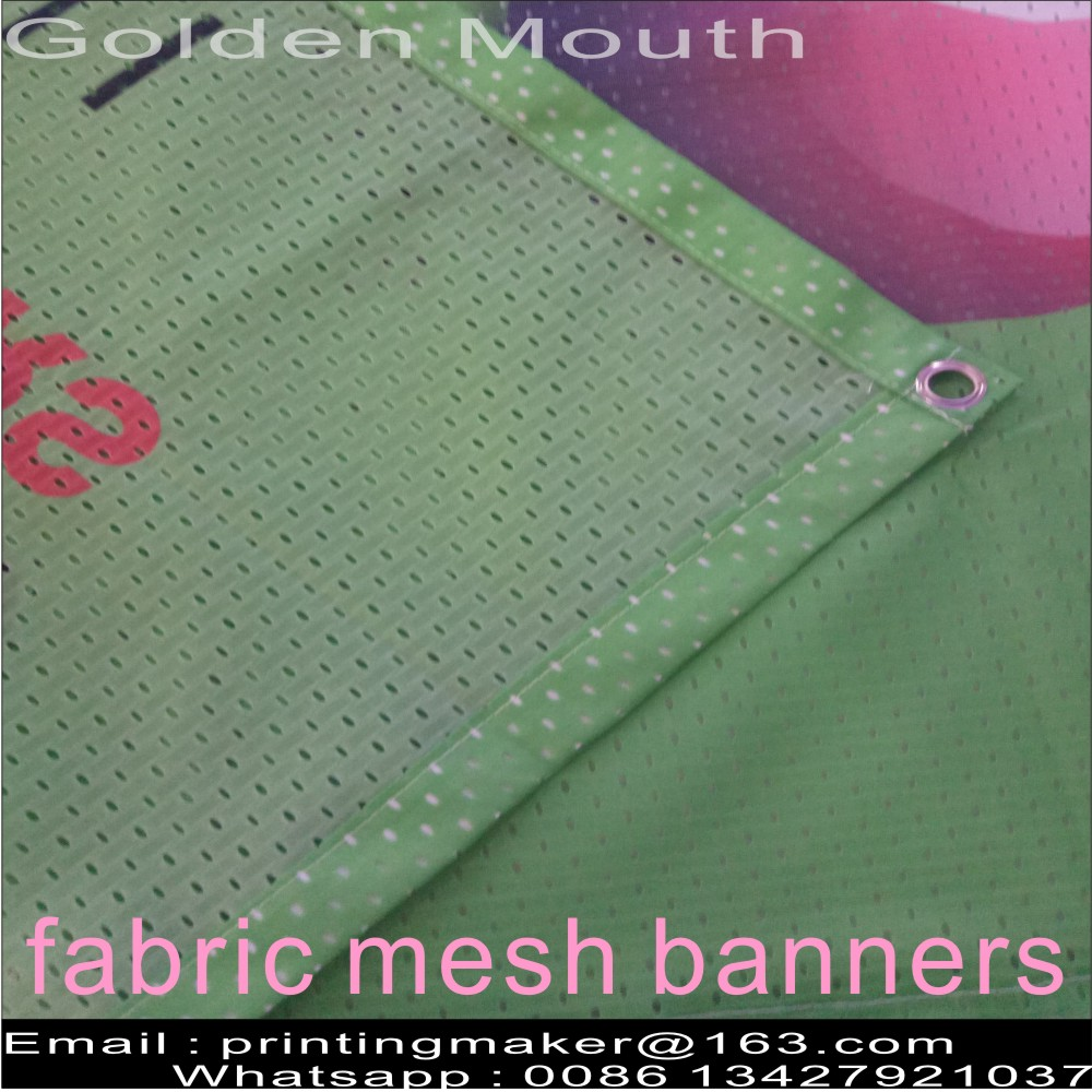 Fabric Outdoor Mesh Banners Sign Fence Wrap