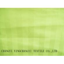 Tissu à rayures de coton pour l'hôtel et le textile domestique de bonne qualité