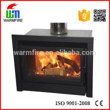 Model WM208 modern wood burning Indoor fireplace firewood