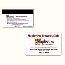 Hotel Member Magnetic Strip PVC Card