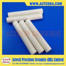 Alta resistente al desgaste 96% Al2O3/99% alúmina cerámica clavija del eje/barra/mecanizado