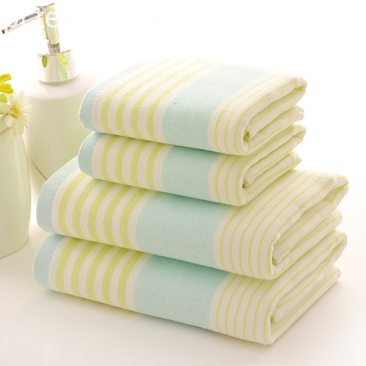 Kids Bathroom Towel Set
