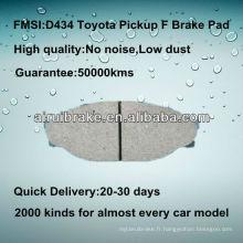 Pièces de frein Toyota D434 pour Pickup