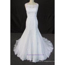 Marfim Beading 2016 Mermaid Bridal Gown