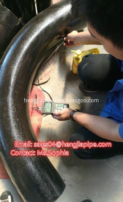 butt weld fitting hot bend