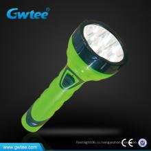 15 светодиодов супер яркий перезаряжаемый светодиодный фонарик