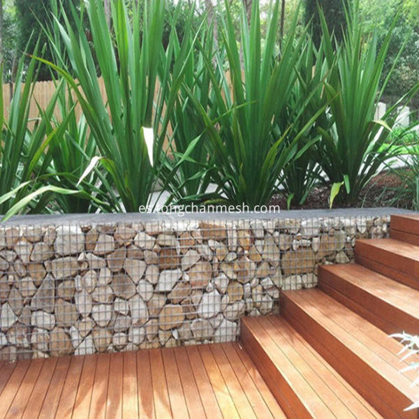 galvanized and PVC coated gabions