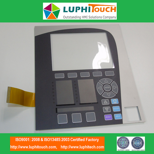GE Multilin850 PCB Circuit Pocket Structure Membrane Keypad