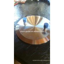 sanitary blank cap