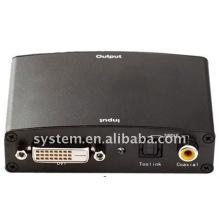 Convertidor DVI a HDMI (DVI + Audio óptico + Audio coaxial a HDMI)