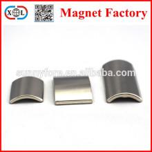 customized shape arc neodymium magnet n52 neodymium motor magnet