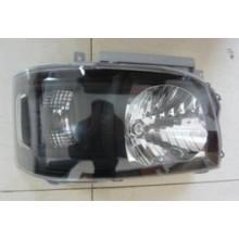Toyota Hiace 2005 reconfigure black crystal head lamp