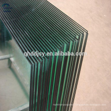 tinted 12mm thick clear tempered glass panel door made in China