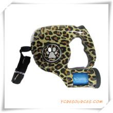 Haustier Leine mit Taschenlampe und Leopard Druck für Förderung