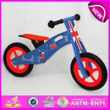 Bici de madera de alta calidad de la venta caliente, bici de madera popular de la balanza, nueva bici W16c087 de los niños de la moda