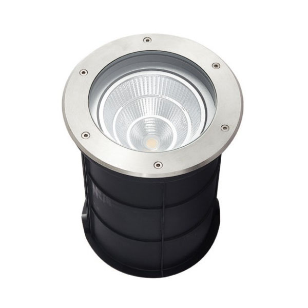 Square Stainless Steel 20W LED Inground Light