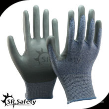 SRSAFETY knitted nitrile working gloves cut resistant gloves