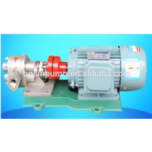 stainless steel food oil transfer gear pump price/high pressure pump