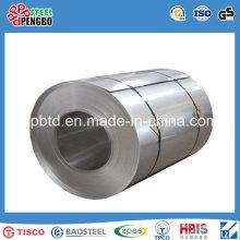 Bobina de aço inoxidável do baixo preço 300 séries com GV do ISO