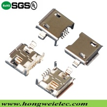 5 Pin Female Micro USB Connector