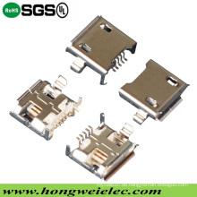 5pin weiblicher Mikro-USB-Verbindungsstück