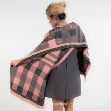 2017 mode pashmina viscose chaud châle lady femmes écharpe à la mode