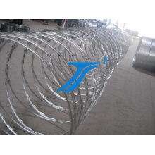 High Quality Anti-Corrosive Security Barbed Wire Razor Wire