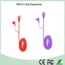 Auricular móvil del cable de los tallarines estéreos estupendos bajos multicolores (K-610M)